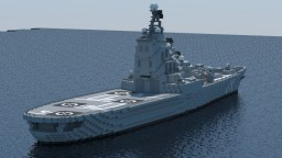 Moskva-class helicopter carrier Minecraft