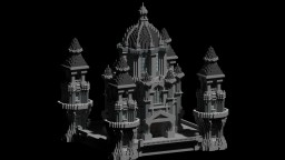 Gothic Faction Spawn Minecraft Map & Project