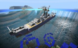 Mini (1:5) Baltimore-Class Heavy Cruiser Minecraft Map & Project
