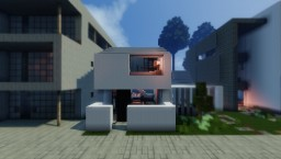 Concept Modern Townhouse Minecraft Project