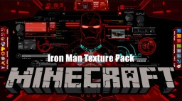 Iron Man Texture Pack 1.11.x made by MaikyTV Minecraft Texture Pack