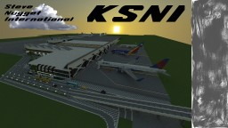 International Airport Minecraft Map & Project