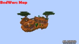 BedWars  Canyon MAP+SCHEMATIC
