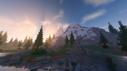 A Random Mountain Minecraft Map & Project