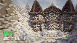 Arctic Temple | 1vs1 Map [+ DOWNLOAD] Minecraft Map & Project
