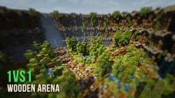 Wooden Arena | 1vs1 Map [+ DOWNLOAD] Minecraft Map & Project