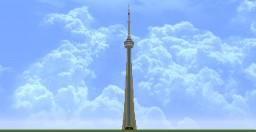 CN Tower [1/2.5] Minecraft
