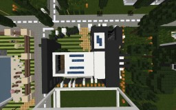 Modern House #2 [Without furniture] Minecraft Project