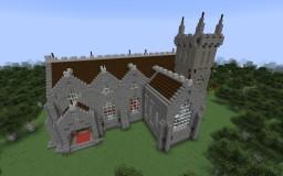 Church Schematics Minecraft Map & Project