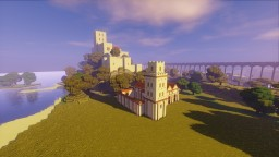 Medieval Andalusian alcazaba and town Minecraft Project