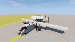 Northrop Grumman E-2C Hawkeye 1,5:1 Minecraft