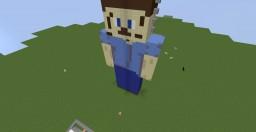 Burning Steve! Minecraft Project