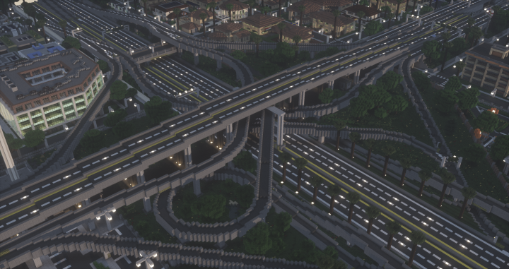 The overview of the old Interchange
