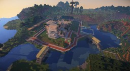 [EN] HUGE MODERN VILLA [FR] ÉNORME VILLA MODERNE Minecraft Map & Project
