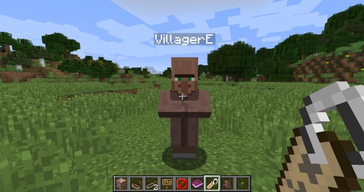 Name any natural Villager.