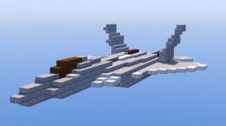 Sukhoi T-50 PAK FA | Scale: 1,5:1 Minecraft Project