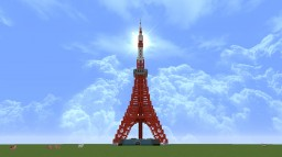 Tokyo Tower [1/2.5] Minecraft Project