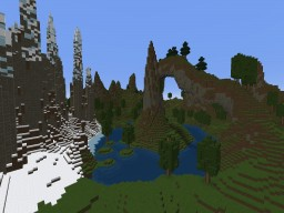 Small Mountain Landscape  [1.8, 1.9, 1.10 & 1.11] [+Ice Spikes] [DOWNLOAD] Minecraft Map & Project