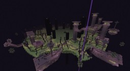 END SPAWN + AREA FIGHT ENDERDRAGON FOR THE SERVER Minecraft Map & Project