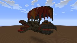 The Parrot - A Flying Ship Minecraft Map & Project