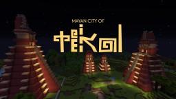 The Mayan City of Tikal (Guatemala) Minecraft Map & Project