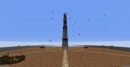 Elytras around Orthanc Minecraft Map & Project