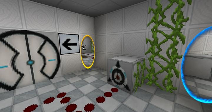 portal minecraft map