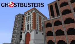 GHOSTBUSTERS - Adventure Map [Progress Report] Minecraft Project