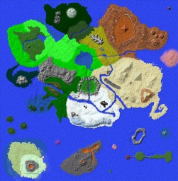 The Central Island Minecraft Map & Project