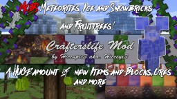 Crafterslife Mod - BOW UPDATE - NEW FEATURES | 1.11 IN NEXT UPDATE!! Minecraft Mod