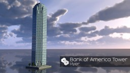 Skyscraper 34 | Bank of America Plaza | AMC | Skyscraper Week Minecraft Project
