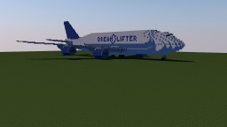 Boeing 747 Large Cargo Dreamlifter Minecraft Project