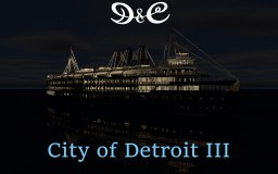 SS City of Detroit III ~ 4:1 ~ Download Minecraft Map & Project