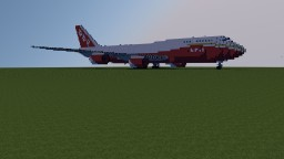 Boeing 747 Supertanker Minecraft Project