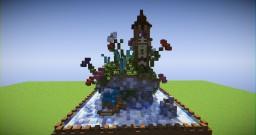 35x35 Plot Build   Fantasy Light House Minecraft Map & Project