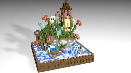 35x35 Plot Build | Fantasy Light House