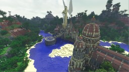 Angel Temple Spawn Hub Minecraft