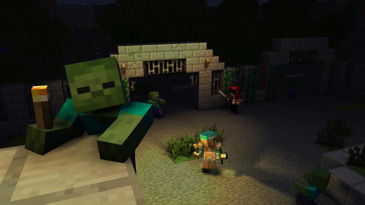 Zombies are lurking around every corner!