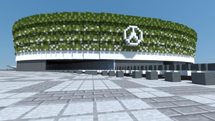 mercedes benz stadium minecraft. Mercedes-Benz Arena Mercedes Benz Stadium Minecraft