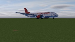 Boeing 737 Peruvian Airlines Minecraft Map & Project