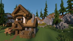 Medieval House Series - 2 Minecraft Map & Project