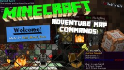 Commands for adventure maps! Minecraft Blog Post