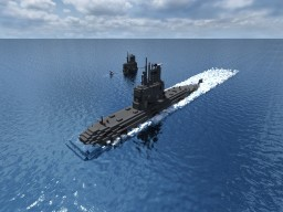 TR-1700-class submarine Minecraft Map & Project