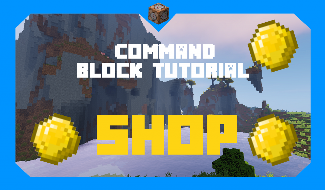 How to Create a Shop | Command Block Tutorial Minecraft Blog