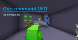 Minecraft 1.11.2 One command Rideable UFO! Minecraft Project