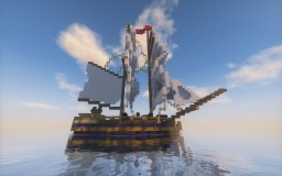 18th century sloop of war Minecraft Map & Project