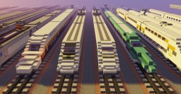 FaizA350 Railyard Minecraft Map & Project