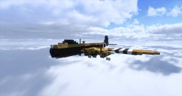 RAF Short Stirling Minecraft Project