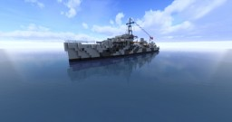 Destroyer Z6 Theodor Riedel 1:1 Minecraft Map & Project