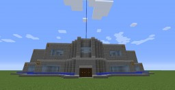 Big Blue Mansion Minecraft Map & Project